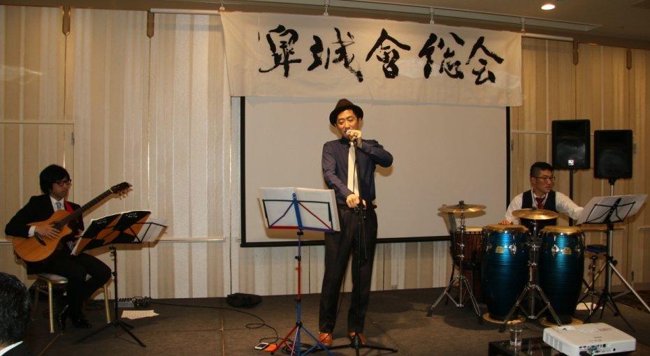 ポエトリーリーディング 村田活彦さん(36期)によるパフォーマンス
